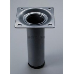 PIED TABLE CYLIND 150 GRIS