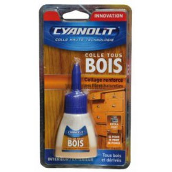 TUBE 50ML COLLE SPECIAL BOIS