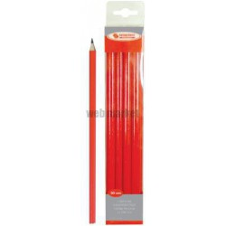 CRAYON CHARPENTIER STAND.ROUGE