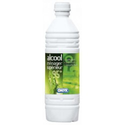 BOUTEILLE 1L ALCOOL MENAGER 95°