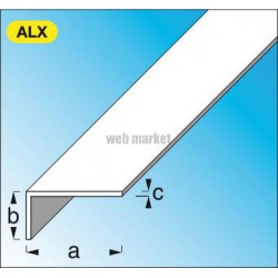CORNIERE 25X20 ALU BRILLANT 1ML