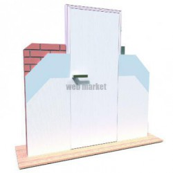 INVISIDOOR OUT LINTEAU G/D 930