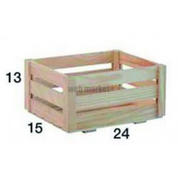 CAISSE PIN MONTEE 240X130X150