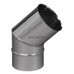 COUDE 90D SECT. INOX 304 125
