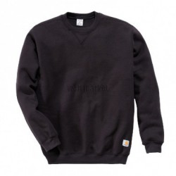SWEAT COL ROND NOIR XL