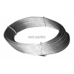 CABLE INOX AISI316 7X19F 4,0